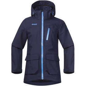 Bergans Youth Folven Jacket Navy/Lt WinterSky